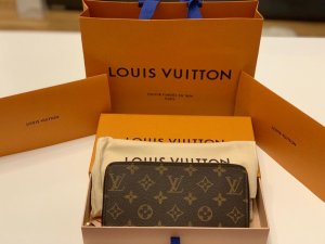 Louis Vuitton Wallet pink-brown