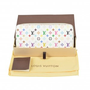 Louis Vuitton Zippy Mon. Canvas Multicolore Geldbörse @mylovelyboutiqe.com