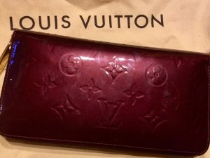 Louis Vuitton Zippy Wallet Vernis Amarante