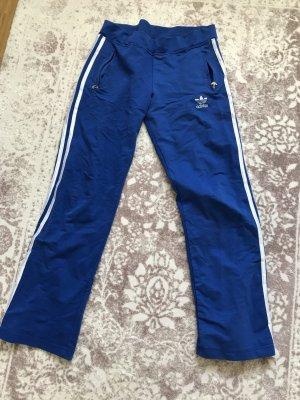 Loungehose Jogginghose blau 38