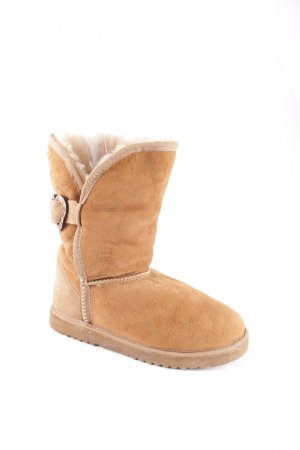 Love from Australia Snow Boots camel fluffy
