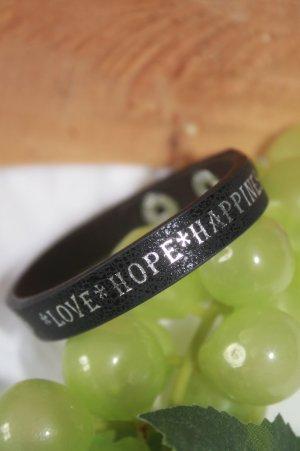 LOVE HOPE HAPPPINESS * Armband * Hippie * Boho * Ibiza * NEU *