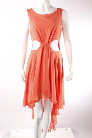 Love Kleid mit Cutouts korallenfarben