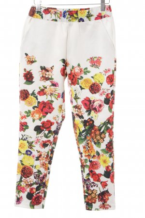 Love Leggings Blumenmuster Casual-Look