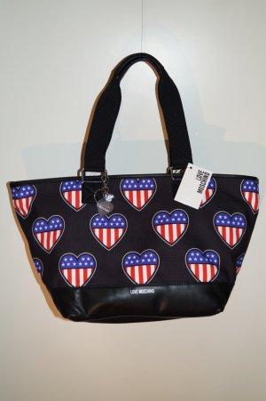 Love Moschino - American Heart Shopper Tasche - groß - NEU