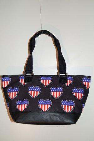 Love Moschino - American Heart Shopper Tasche - klein - NEU