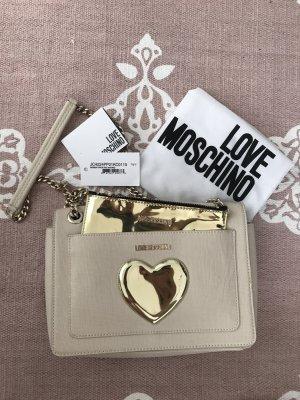 Love Moschino Sac bandoulière doré-beige clair