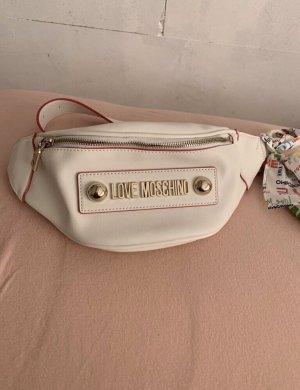 Love Moschino Marsupio bianco-rosa