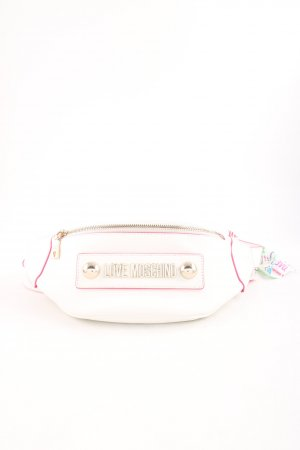 "Love Moschino Bauchtasche ""Soft Grain Pu Crossbody Bag Bianco"""