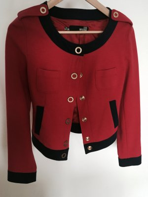 Love Moschino Jacket dark blue-brick red