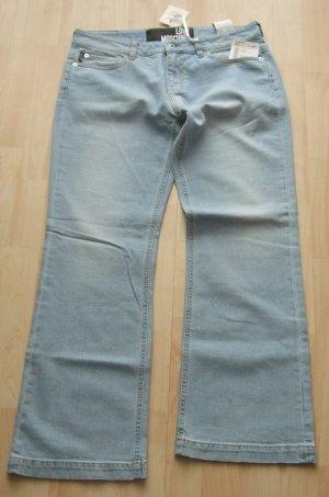 Love Moschino Jeans 7/8 bleu coton