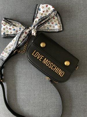Love Moschino Gekruiste tas zwart-goud