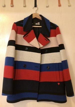 Love Moschino Pea Jacket multicolored
