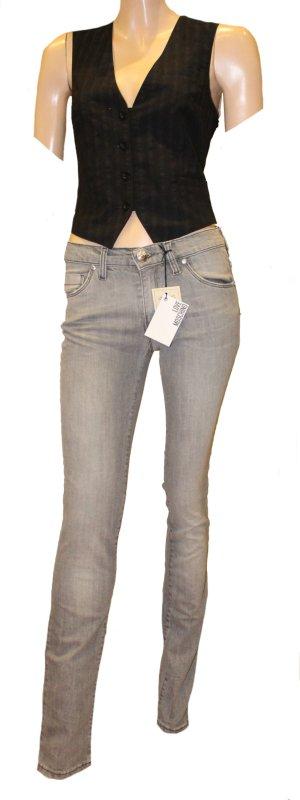 LOVE MOSCHINO Caipirina Skinny Jeans W 26 grau