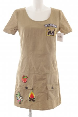 Love Moschino Cargokleid grüngrau Casual-Look