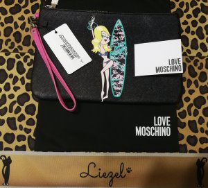 Love Moschino Enveloptas zwart