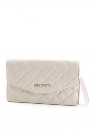 "Love Moschino Clutch ""Quilted Crossbody Bag 2 Tortora"" beige"