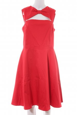 Love Moschino Cut-Out-Kleid rot Elegant