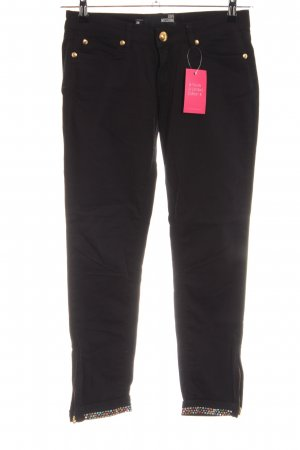 Love Moschino Pantalon cinq poches noir élégant