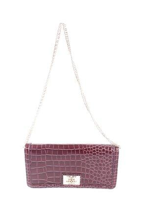 Love Moschino Wallet dark red animal pattern extravagant style