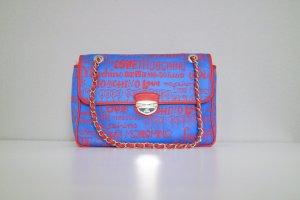 Love Moschino Handtasche blau/rot