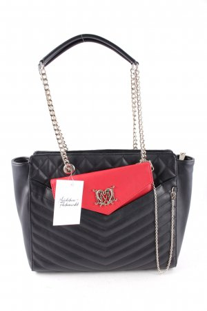 """Love Moschino Handtasche """"Borsa Quilted Large Nero Rosso"""""""