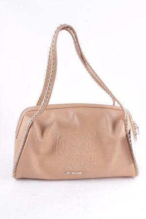 Love Moschino Handtasche hellbraun Street-Fashion-Look