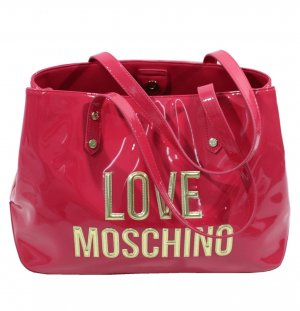 Love Moschino Handtasche in Rosa