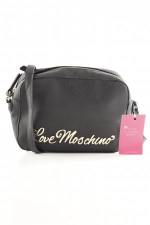 "Love Moschino Handtasche ""Letter Crossbody Bag Nero"" schwarz"