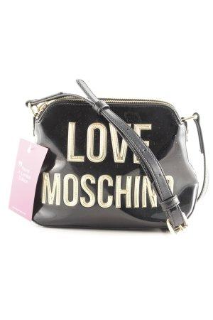 "Love Moschino Handtasche ""Patent Crossbody Bag Nero"" schwarz"
