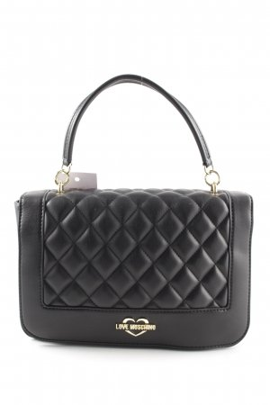 "Love Moschino Handtasche ""Quilted Crossbody Bag Black/Gold"" schwarz"