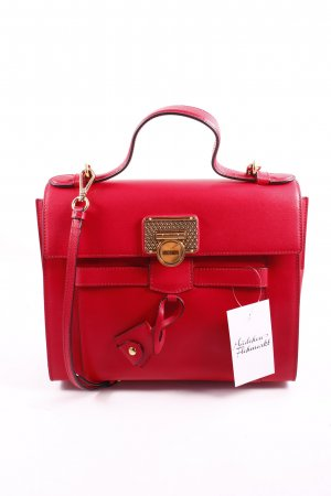 "Love Moschino Handtasche ""Retro Heart Locket Bag Red"" rot"