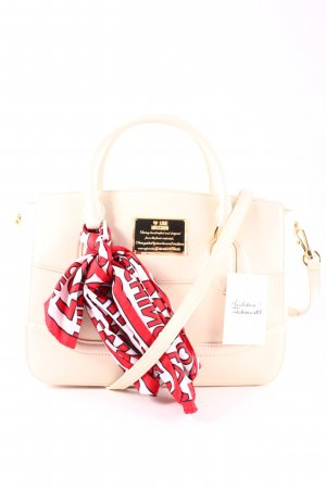 """Love Moschino Handtasche """"Scarf On Chain Tophandle Tote Creme"""" creme"""