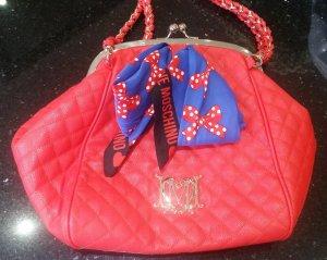 Love Moschino Handtasche Shopper Tasche Beuteltasche rot