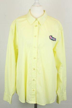 Love Moschino Hemd Bluse Gr. 36 gelb Krokodil