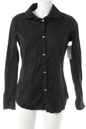 Love Moschino Hemd-Bluse schwarz Casual-Look
