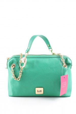 Love Moschino Henkeltasche türkis Casual-Look