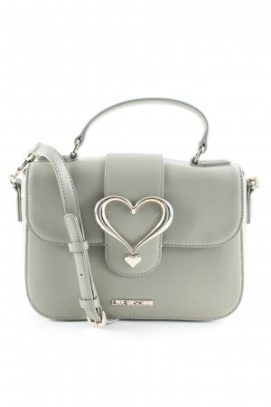 Love Moschino Henkeltasche graugrün Street-Fashion-Look