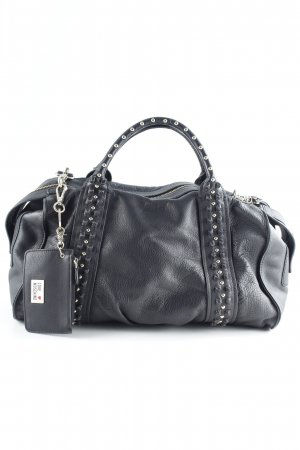 Love Moschino Bolso barrel negro estilo sencillo