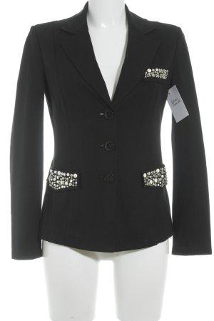 Love Moschino Jerseyblazer schwarz Business-Look