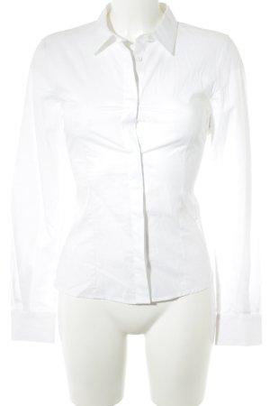 Love Moschino Langarm-Bluse weiß Elegant