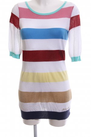 Love Moschino Long Sweater striped pattern casual look