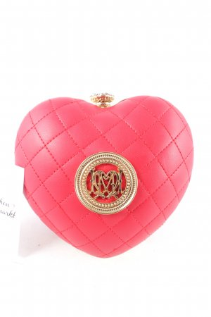 "Love Moschino Mini Bag ""Borsa Nappa PU Trapuntata Rosso"" red"