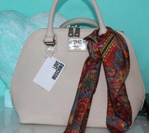 Love Moschino Carry Bag nude-sand brown polyurethane