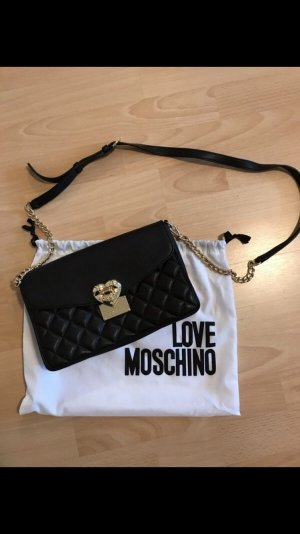 Love Moschino Borsa a tracolla nero-oro