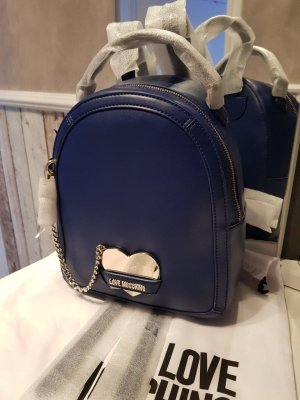 Love Moschino Backpack dark blue