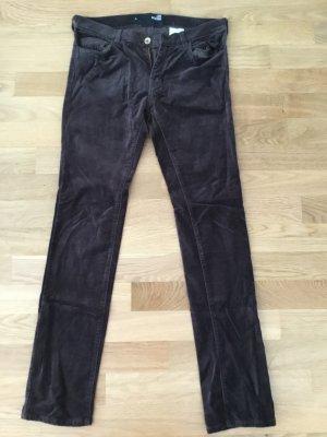 Love Moschino Pantalon cinq poches multicolore