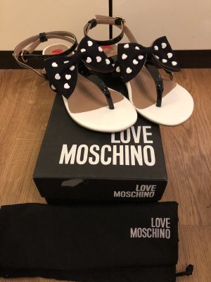 Love Moschino Flip-Flop Sandals multicolored