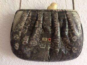 Love Moschino Schlangenoptik Tasche