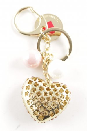 Love Moschino Schlüsselanhänger goldfarben-pink Casual-Look
